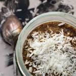 Lody kokosowo-czekoladowe bez cukru w wersji wegańskiej