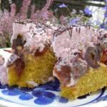 marchewkowe ciasto ze śliwkami...