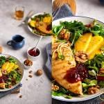 Sałatka z kurczakiem, mango i żurawiną