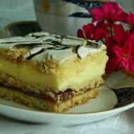 Ciasto kruche z masą jajeczno-cytrynową