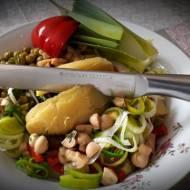 Sałatka ziemniaczana z sosem musztardowym