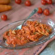 Śledzie w pomidorach