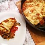 Lasagne wegetariańska z cukinią