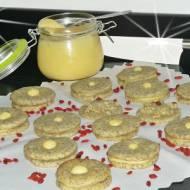 Ciasteczka makowe z kremem cytrynowym
