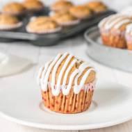 Muffinki cynamonowe z masłem orzechowym