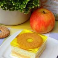 szarlotek - jabłecznik z serem na zimno
