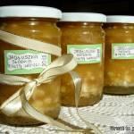 Jabłka prażone do kanapek z waniliową nutą