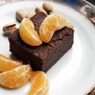 Czekoladowe ciasto z kaszy manny