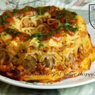 Spaghetti zapiekane a'la babka