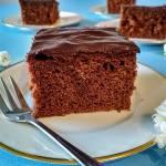 Ciasto czekoladowe na mleku zagęszczonym.