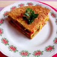 Omlet z warzywami czyli coś na ciepło z pokaźną dawką witaminy C.