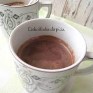 Czekośliwka do picia, czyli czekolada na gorąco z powidłami śliwkowymi.