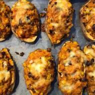 Czwartek: Meksykańskie zapiekane słodkie ziemniaki