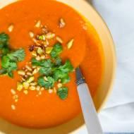 Krem z pomidorów i marchewki