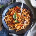 Szybki makaron z owocami morza / Easy seafood pasta
