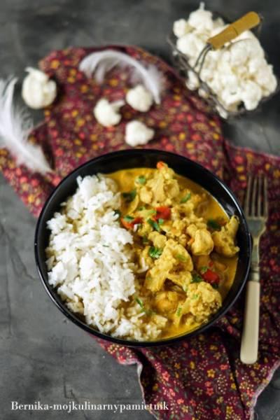 Curry z kalafiorem z wolnowaru