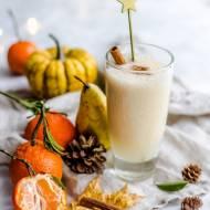 Jesienny koktajl migdałowo-owocowy