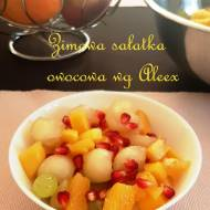Zimowa sałatka owocowa wg Aleex