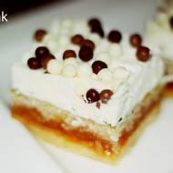 Pasta orzechowa i śmietana = Przepyszne ciasto