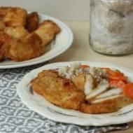 Piersi kurczaka w panierce z sera Parmezan