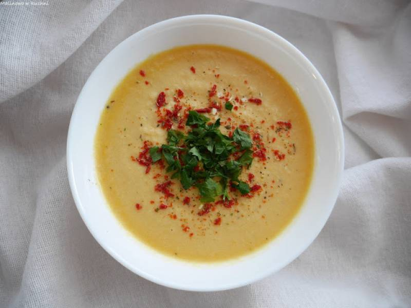 Zupa krem z kurczaka