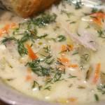 Zupa ogórkowa z selerem naciowym