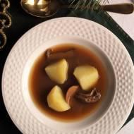 Barszcz grzybowy z Cmolasu - kuchnia podkarpacka