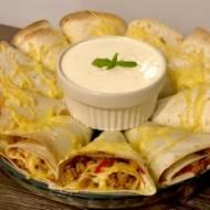 Imprezowa przekąska z tortilli