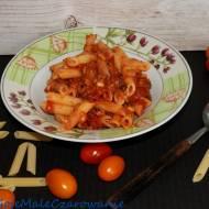 Makaron w sosie sycylijskim