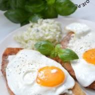 Kotlety z jajkiem sadzonym