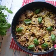 Polędwiczki wieprzowe w sosie z Ballantines, żurawiną, chilli i suszonym pomidorem