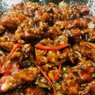 kkanpunggi – smażony kurczak, na ostro, po koreańsku