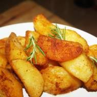 Pieczone , chrupiące ziemniaki po węgiersku