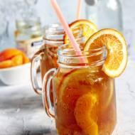 Brzoskwiniowo- pomarańczowy bourbon jar