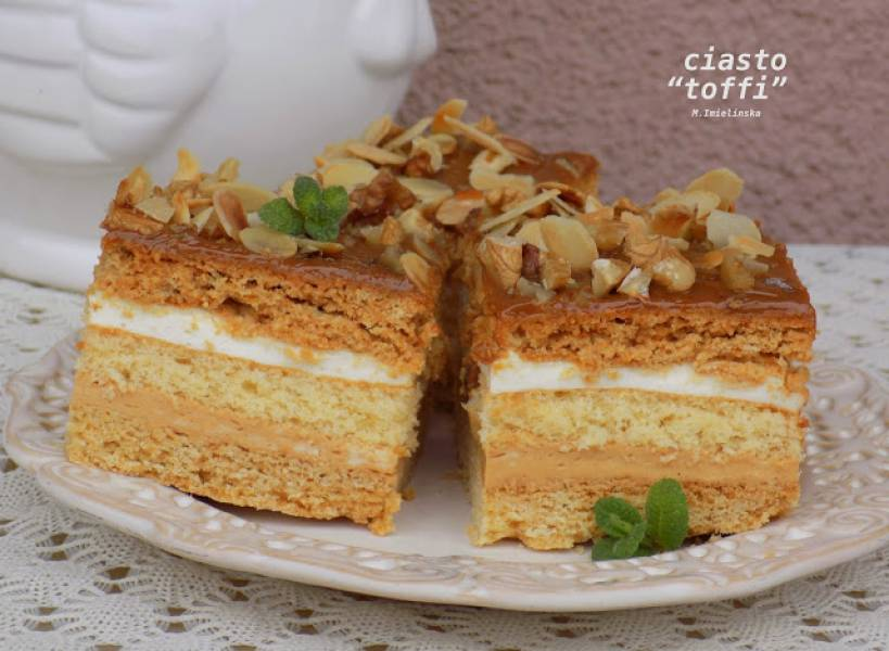 Przepis Na Ciasto Toffi Domowa Cukierenka Domowa Kuchnia