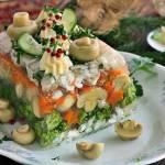 Galareta z dorszem i grzybami