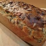 Prosty i smaczny chleb pszenno-żytni :)