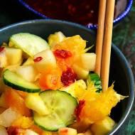 Pikantna sałatka owocowa