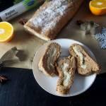 Rolada piernikowa z kremem chałwowym