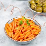 Glazurowane marchewki