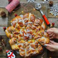 Gwiazda z ciasta na Boże Narodzenie!