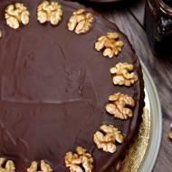 Tort orzechowo - kawowy