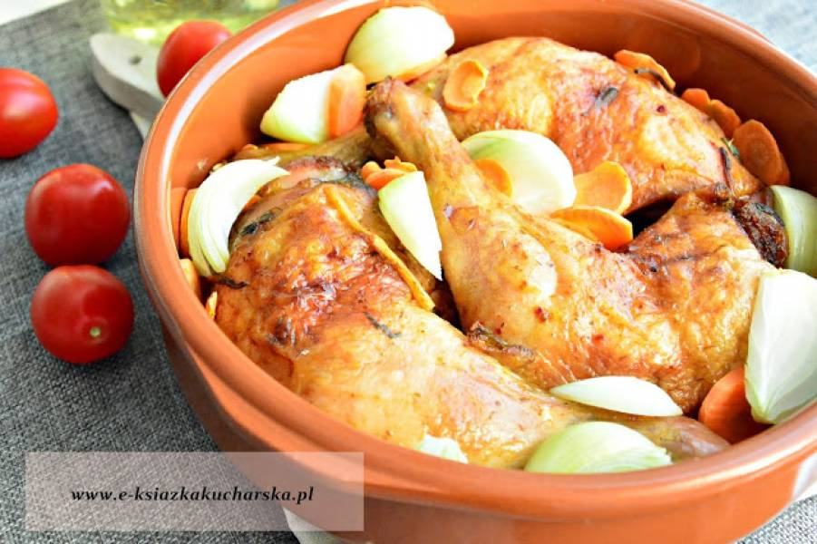 Przepis Na Chrupiace Udka Kurczaka Z Piekarnika Moja Ksiazka