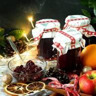 Konfitura świąteczna z czerwonym winem
