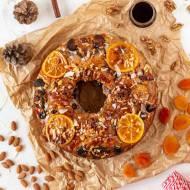 Bolo Rei - portugalskie królewskie ciasto bożonarodzeniowe