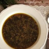 Zupa z kaszą i grzybami (wigilijna) – kuchnia podkarpacka