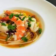 Zupa rybna z akcentem azjatyckim