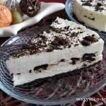 Piankowe ciasto na zimno z Oreo