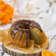 Babka pomarańczowa z makiem i czekoladą