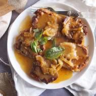 Karkówka w sosie pomarańczowo-śliwkowym / Pork neck with orange plum sauce